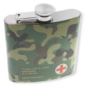 CAMOUFLAGE Hip flask