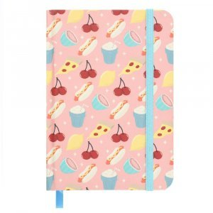 Tasty Food Notebook A6