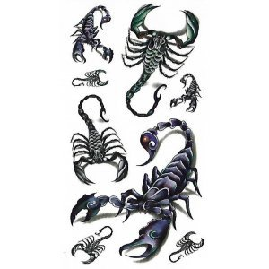 Temporary Tattoo SCORPIONS