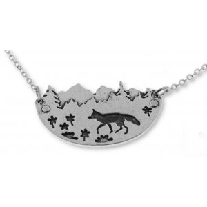 Necklace FOX IN THE FOREST