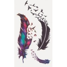 FEATHERS 1 Temporary Tattoo