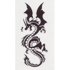 DRAGON 1 Temporary Tattoo