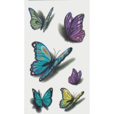 BUTTERFLIES 1 Temporary Tattoo