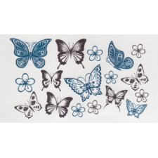 BUTTERFLIES 3 Temporary Tattoo