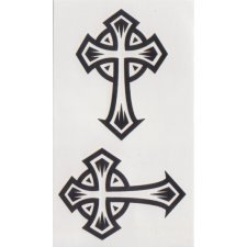 CROSS 1 Temporary Tattoo
