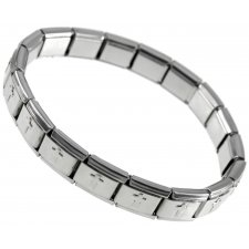 Steel Cross Bracelet JOBBI