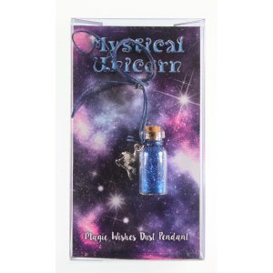 MAGIC DUST Unicorn Necklace (blue)