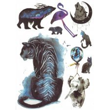 Temporary Tattoo ANIMALS